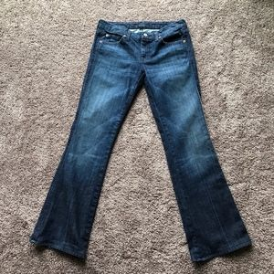 7 For All Mankind A Pocket Bootcut Jeans Size 29